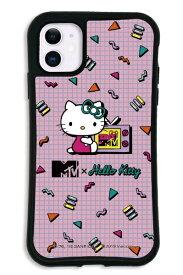ケースオクロック caseoclock iPhone11 WAYLLY-MK × MTV × ハローキティ セット ドレッサー 80s ピンク mkmtvk-set-11-80pk