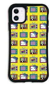 ケースオクロック caseoclock iPhone11 WAYLLY-MK × MTV × ハローキティ セット ドレッサー 80s イエロー mkmtvk-set-11-80ye