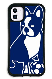 ケースオクロック iPhone11 WAYLLY-MK × サッカージャンキー/パンディアーニ 【セット】 ドレッサー ネイビー mksjp-set-11-nv