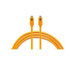 テザーツールズ Tether Tools テザープロ USB-C トゥ USB-C フォー フェーズ ワン オレンジ CUCP15-ORG