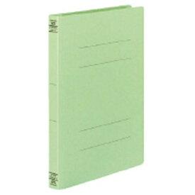 コクヨ KOKUYO フラットファイル W ワイド 樹脂製とじ具 A4縦 25mmとじ フ-W10NG 緑