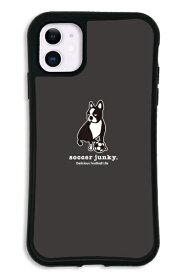 ケースオクロック iPhone11 WAYLLY-MK × サッカージャンキー/パンディアーニ 【セット】 ドレッサー ブラック mksjp-set-11-blk