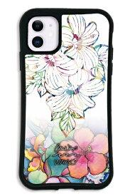ケースオクロック caseoclock iPhone11 WAYLLY-MK × Colleen Malia Wilcox セット ドレッサー ホワイトハイビスカス mkcln-set-11-whb