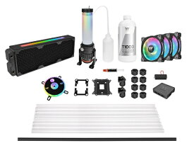 THERMALTAKE サーマルテイク Pacific CL360 Max Liquid Cooling Kit 水冷組み立てキット CL-W259-CU00SW-A