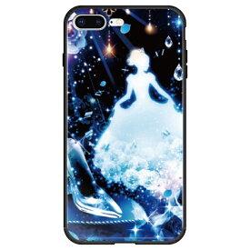 藤家 Fujiya iPhone8P/7P (5.5) 幻想デザイン ガラスハイブリッド ケース ghp7053-bk-x-ip8p