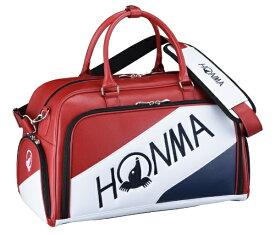 本間ゴルフ HONMA GOLF ボストンバッグ シューズポケット付きトーナメントプロモデルボストンバッグ(W50×H30×D25cm/レッド×ネイビー) BB-12001