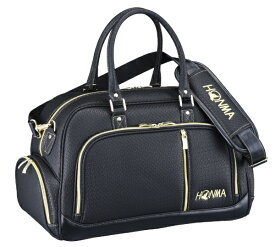 本間ゴルフ HONMA GOLF ボストンバッグ シューズポケット付きスポーツタイプボストンバッグ(W43×H30×D24cm/ブラック) BB-12020