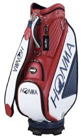 本間ゴルフ HONMA GOLF キャディバッグ HONMA トーナメントプロレプリカモデルキャディバッグ(9.5型/レッド×ネイビー) CB-12003