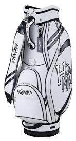 本間ゴルフ HONMA GOLF キャディバッグ HONMA ダンシングHONMAロゴキャディバッグ(9.0型/ホワイト) CB-12015