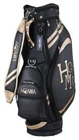 本間ゴルフ HONMA GOLF キャディバッグ HONMA ダンシングHONMAロゴキャディバッグ(9.0型/ブラック) CB-12015