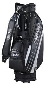 本間ゴルフ HONMA GOLF キャディバッグ HONMA サイドライン入りスポーツタイプキャディバッグ(9.0型/ブラック) CB-12016