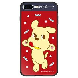 藤家 Fujiya iPhone8P/7P (5.5) 不二家 ガラスハイブリッド ケース ghp7050-bk-b-ip8p