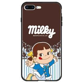 藤家 Fujiya iPhone8P/7P (5.5) 不二家 ガラスハイブリッド ケース ghp7050-bk-j-ip8p