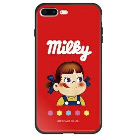 藤家 Fujiya iPhone8P/7P (5.5) 不二家 ガラスハイブリッド ケース ghp7050-bk-k-ip8p