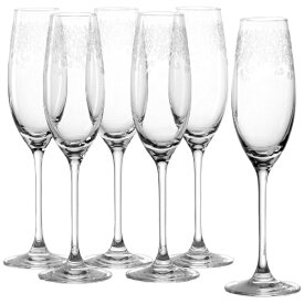 Leonardo レオナルド 6P シャンパン 200ml Chateau ガラス 061590