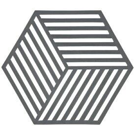 ゾーン ZONE トリベット Hexagon クールグレー 330137