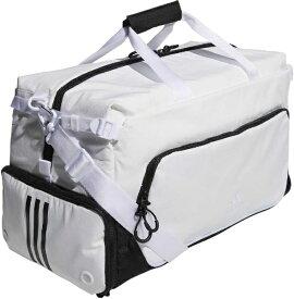 アディダス adidas ダッフルバッグ(ホワイト×ブラック/57x30x26cm・44L) GUV66