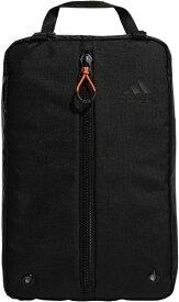 アディダス adidas シューズバッグ(ブラック×ホワイト/24x37x15cm) GUV60