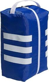 アディダス adidas シューズケース 3ストライプシューズバッグ(グローリーブルー×ホワイト/34x14x24cm) GUV85