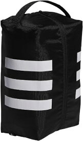 アディダス adidas シューズケース 3ストライプシューズバッグ(ブラック×ホワイト/34x14x24cm) GUV85