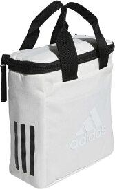 アディダス adidas 保冷バッグ クーラーバッグ(ホワイト×ブラック/22x24x10cm) GUV79