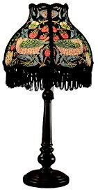 クラシカ CLASICA インテリア テーブルランプ(いちご泥棒・あお) William Morris lamps ADS-002str-B [電球 /電球色]