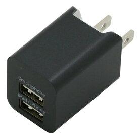 バウト BAUT プレミアムシリーズAC充電器2台同時充電USBポート2.4A バウト ガンメタ BAC2U24SGM [2ポート]