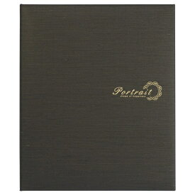 ハクバ HAKUBA 高級台紙 No.890 6切 3面(タテ・タテ・タテ) ブラウン M890-3-BR [タテ /六切サイズ /3面]