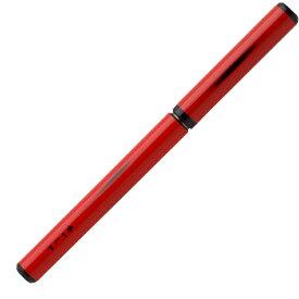 あかしや 天然竹筆ペン 漆調 赤軸/透明ケース入り AK2000UP-RD