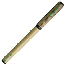 あかしや 天然竹筆ペン 四葉/透明ケース AK2700MP-26