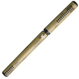 あかしや 天然竹筆ペン 鳩/透明ケース AK2700MP-59