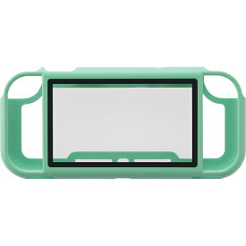 サイバーガジェット CYBER Gadget Switch Lite用 ガラスパネル付きマグネットバンパー ターコイズ CY-NSLMGB-TQ【Switch Lite】