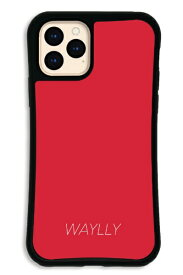 ケースオクロック caseoclock iPhone11Pro WAYLLY-MK セット ドレッサー スモールロゴ レッド WAYLLY mksl-set-pro-red