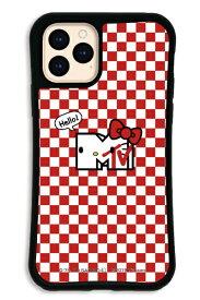 ケースオクロック caseoclock iPhone11Pro WAYLLY-MK × MTV × ハローキティ セット ドレッサー パンカデリック チェック WAYLLY mkmtvk-set-pro-pch