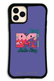 ケースオクロック caseoclock iPhone11Pro WAYLLY-MK × MTV × ハローキティ セット ドレッサー 80s パープル WAYLLY mkmtvk-set-pro-80pp