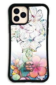 ケースオクロック caseoclock iPhone11Pro WAYLLY-MK × Colleen Malia Wilcox セット ドレッサー ホワイトハイビスカス WAYLLY mkcln-set-pro-whb