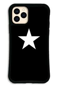 ケースオクロック caseoclock iPhone11Pro WAYLLY-MK セット ドレッサー スター ブラック×ホワイト WAYLLY mkst-set-pro-blw