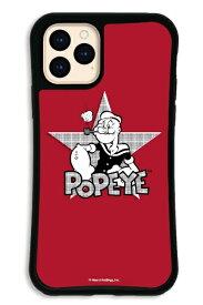 ケースオクロック caseoclock iPhone11Pro WAYLLY-MK × ポパイ 【セット】 ドレッサー レッド WAYLLY mkppy-set-pro-red