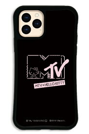 ケースオクロック caseoclock iPhone11Pro WAYLLY-MK × MTV × ハローキティ セット ドレッサー カワイイポップ ロゴブラック WAYLLY mkmtvk-set-pro-kbl