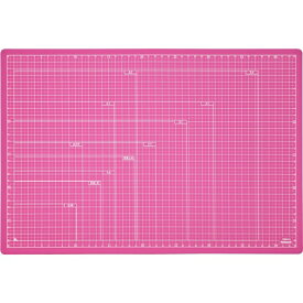 ナカバヤシ Nakabayashi 折りたたみカッティングマットA3 ピンク CTMOA3P