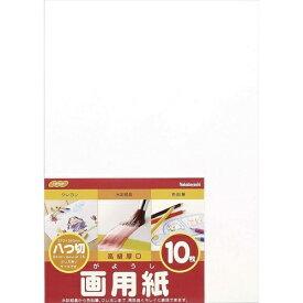 ナカバヤシ Nakabayashi 画用紙 八ツ切 10枚束 SD-カ-101