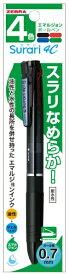 ゼブラ ZEBRA スラリ4C 07 N 黒 1本入M P-B4A11-BK