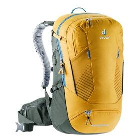 ドイター Deuter バックパック マウンテンバイクツアー用 TRANS ALPINE 24(24L/ curry-ivy (yellow-green))3205020-9203