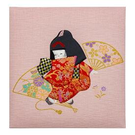 ナカバヤシ Nakabayashi フエル誕生用 Lサイズ 童人形 ピンク
