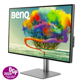BenQ ベンキュー PD3220U Thunderbolt接続 PCモニター デザイナー向け グレー [31.5型 /ワイド /4K(3840×2160)][31.5インチ 液晶ディスプレイ パソコンモニター]