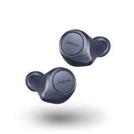 JABRA ジャブラ フルワイヤレスイヤホン100-99091000-40 ELITEACTIVE75T ネイビー [リモコン・マイク対応 /ワイヤレス(左右分離) /Bluetooth /ノイズキャンセリング対応]