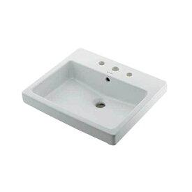 カクダイ KAKUDAI カクダイ DU-0315550030 角型洗面器/3ホール