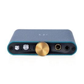 iFI AUDIO アイファイオーディオ ポータブルヘッドホンアンプ ペトロールブルー hip-dac [DAC機能対応 /ハイレゾ対応]
