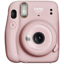富士フイルム FUJIFILM インスタントカメラ 『チェキ』 instax mini 11 ブラッシュピンク