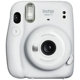 富士フイルム FUJIFILM インスタントカメラ 『チェキ』 instax mini 11 アイスホワイト